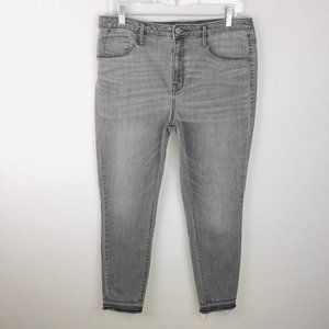Mossimo High Rise Jegging Jeans Gray 14 32 R